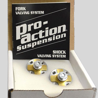 Pro-Action Fork Valving System